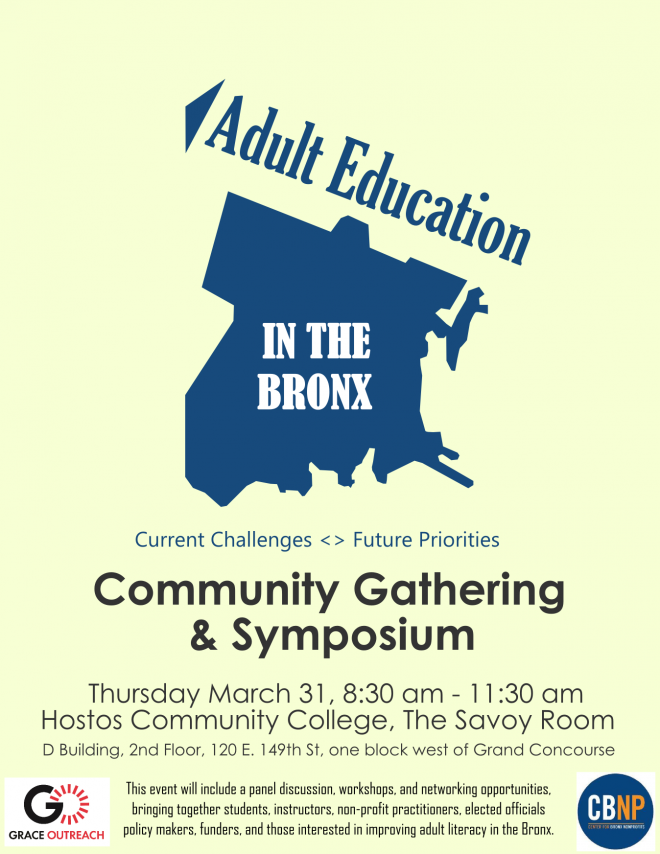 Bronx Community Meeting Poster 3.1